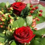 Svatba Soláň - květinová dekorace